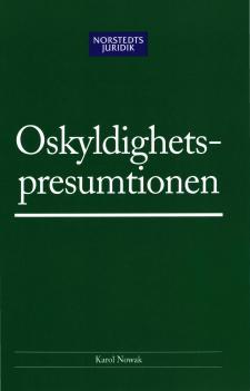 Cover for Oskyldighetspresumtionen