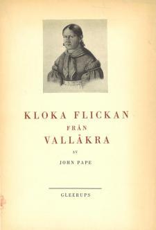Cover for Kloka flickan från Vallåkra